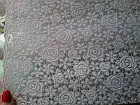 Скатерть на праздничный стол  Ажур Маленькие розочки