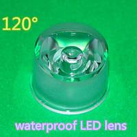 Линза для светодиода LED Lens 1-3W 120° с держателем 20mm