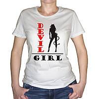 """Женская футболка """"Devil Girl"""""""