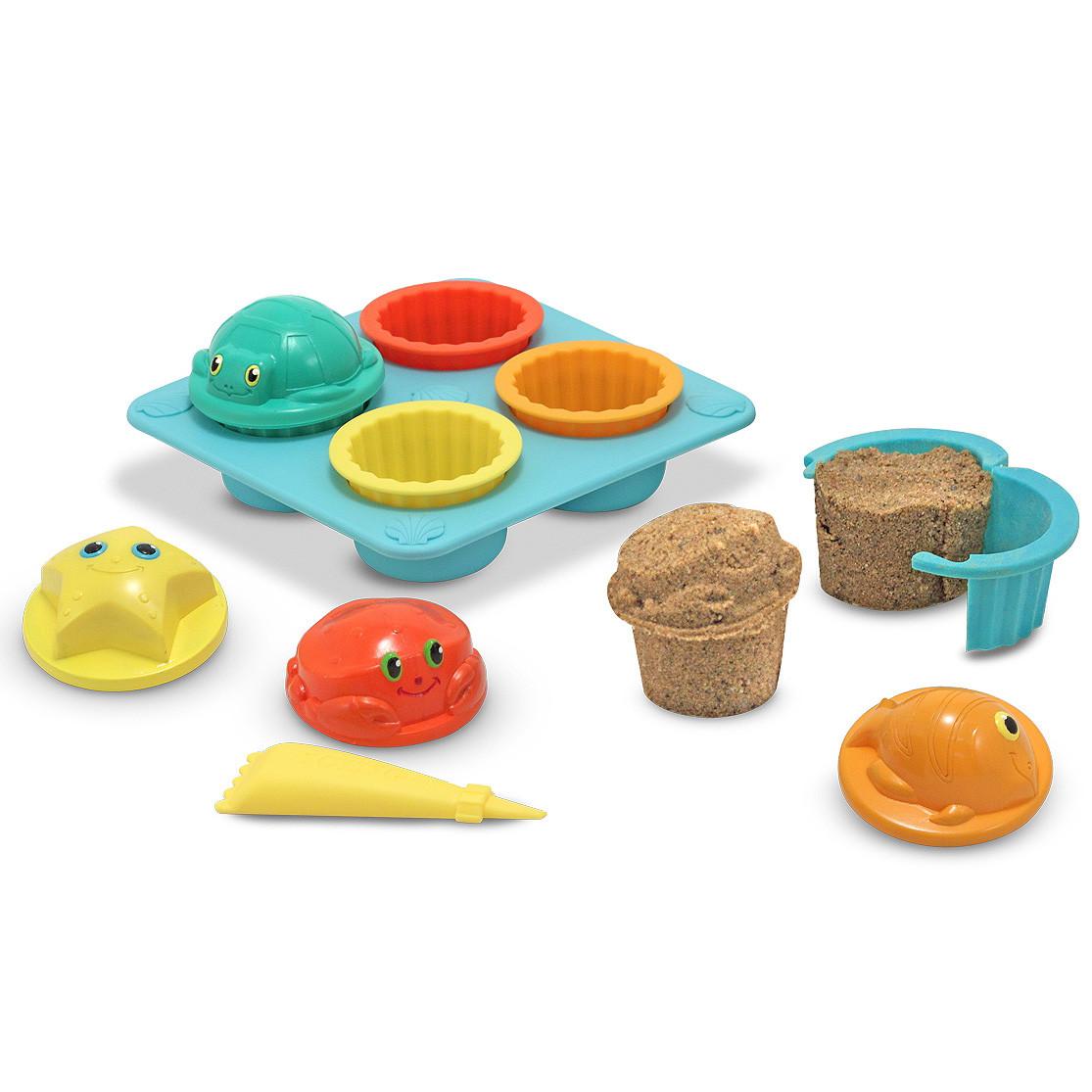 Песочные формы для кексиков Melissa & Doug