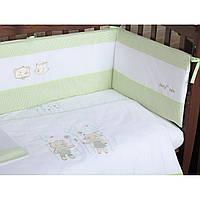 Комплект детского постельного белья на кроватку Верес Fairy Tale Pink, 3 элемента