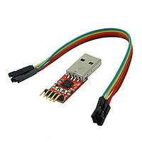 Перетворювач інтерфейсу USB в інтерфейс UART на базі чіпа CP2102 адаптер TTL, фото 1