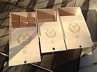 Упаковочная коробка из дерева по вашим ТЗ