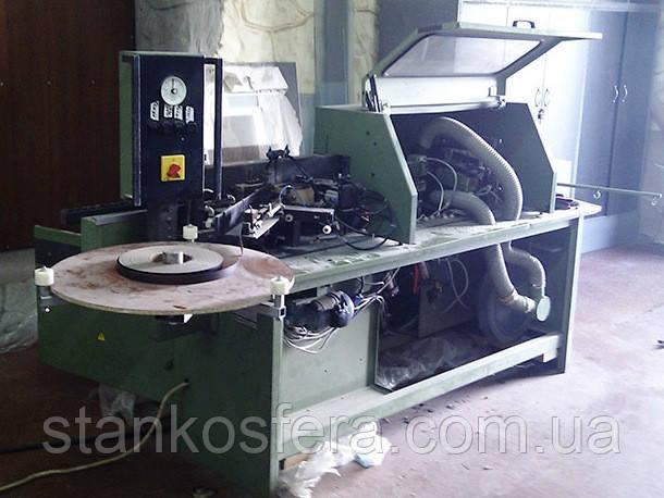 Кромкооблицовочный станок бу Brandt KTD65 проходного типа