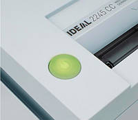 Качественный перекрестный измельчитель для бумаги IDEAL 2245 CC 2x15mm.