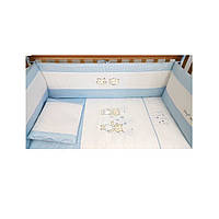 Комплект детского постельного белья на кроватку Верес Fairy Tale blu   3 элемента