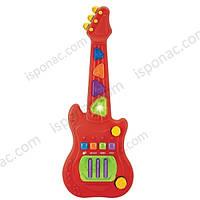 Гитара электронная Red Box 23725-2, музыкальные, свет.овые эффекты