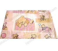 Комплект переменный - 3 предмета (40495), Мишка на коврике, бежевый