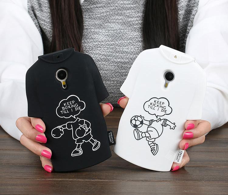 """Meizu M2 mini 5.0"""" оригинальный противоударный TPU 3D чехол бампер для телефона """"KEEP S"""""""