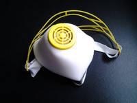 Респиратор У2К (высший сорт)  наголовник пластик