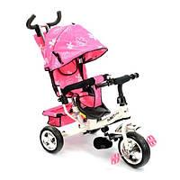 Велосипед розовый (3-х колёсный) Best Trike