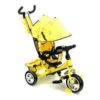 Велосипед желтый (3-х колёсный)