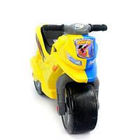 Мотоцикл 2-х колесный желто-синий (О)