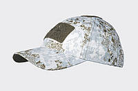 Тактическая бейсболка Helikon-Tex® Tactical Baseball Cap NR - PenCott™ SnowDrift, фото 1