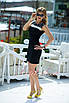 Черное летнее Платье Ивонн, фото 3