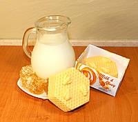 Мыло ручной работы Молоко и мед