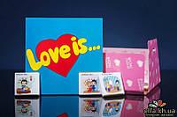 Шоколадный мини-набор Love is (9 шоколадок)