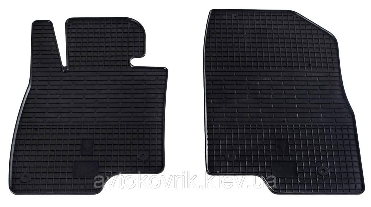 Резиновые передние коврики в салон Mazda 6 (GJ) 2012- (STINGRAY)