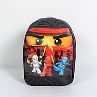 Дитячий рюкзачок Ninja Lego (чорний)