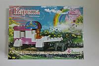 Міні конструктор Карета 38 детал. 01388817 в картонній коробці 25х35 см