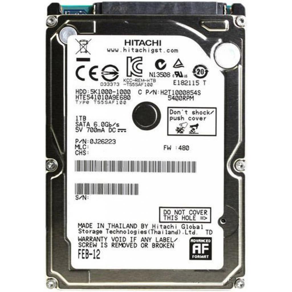 "Жесткий диск для ноутбука 2.5"" 1TB Hitachi HGST ."
