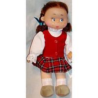 "Мягконабивная кукла ""ЯСЯ ШКОЛЬНИЦА"" (30 см.)"