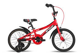 "Велосипед 16"" PRIDE ARTHUR красно-белый глянцевый"
