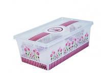 Коробка для хранения вещей Happy Mothers 2,5 литров.