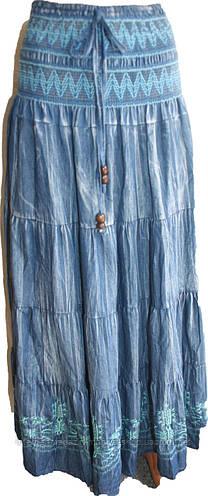Женская юбка джинс