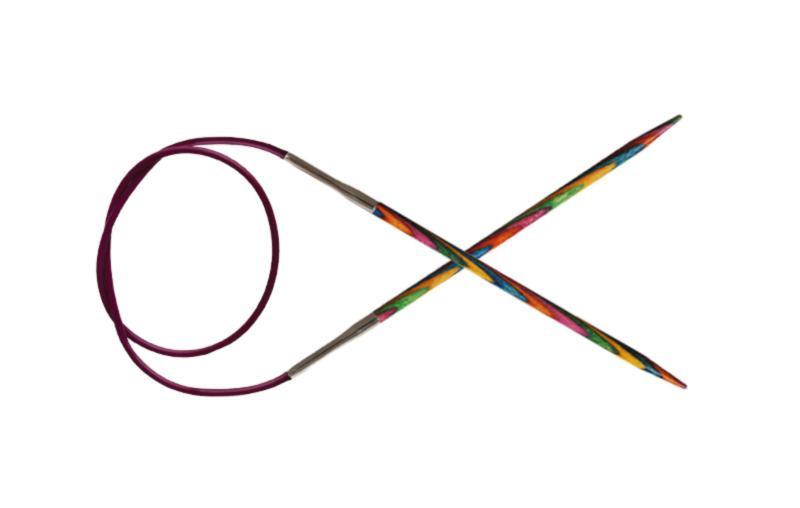 Кругові спиці 150 см Symfonie Wood KnitPro, 6.00 мм