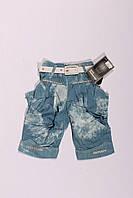 Шорты джинсовые для девочек от 5 до 10 лет