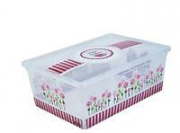 Коробка для хранения вещей Happy Mothers 5 литров.