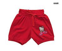 Летние шорты Hello Kitty для девочки. 3, 4, 6, 7 лет