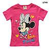 Футболка Minnie Mouse для девочки. 90, 100, 110, 120, 130 см