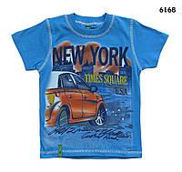 Футболка New York для мальчика. 5, 8 лет, фото 1
