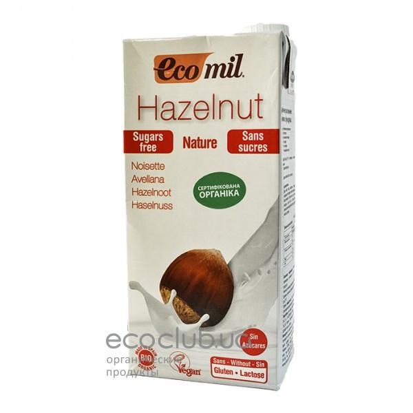 Молоко органическое растительное из фундука без сахара ТМ EcoMil 1л