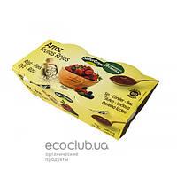 Десерт органический растительный из риса с красными фруктами TM NaturGreen 2х125г