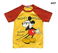 Футболка Mickey Mouse для мальчика. 130 см, фото 1