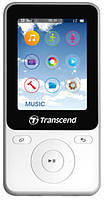 MP4-ФЛЭШ ПЛЕЕР TRANSCEND T-SONIC 710 8 GB WHITE