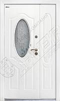 "Двери ""АБВЕР"" 1200 белый молоток - модель 2018, фото 1"