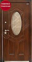 """Двери """"АБВЕР"""" со стеклом - модель 27-2 Изумруд, фото 1"""