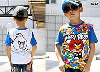 Футболка Angry Birds для мальчика. 95 см