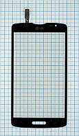Тачскрин сенсорное стекло для LG D373 L80 black