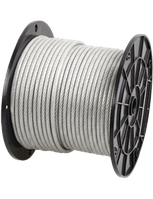 Трос стальной оцинкованный 2мм (DIN 3055 6x7)