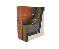 Утеплитель фасадный Термолайф 115 кг/м3, 50 мм утепление фасадов под мокрую штукатурку