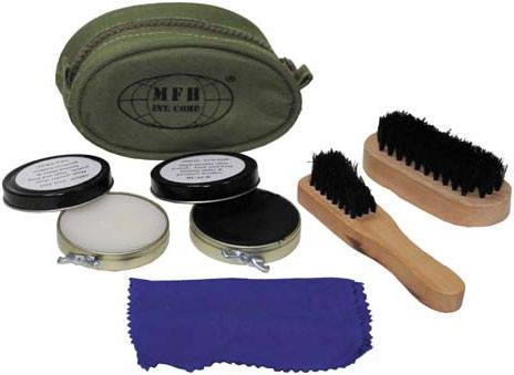 Компактный набор для ухода за обувью MFH 20311, фото 2