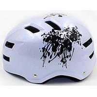 Шлем - котелок для экстремальных видов спорта MTV01 белый
