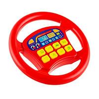 Руль 3360 музыкальный, красный