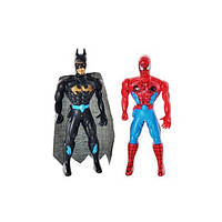 Набор фигурок (2 шт) Супергерои (СП, ВМ), 13х11х2 см