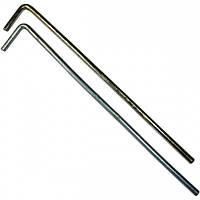 Колышек для палатки D=4мм, L=170мм стальной жёсткий Krok